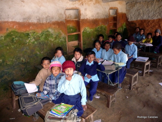 To talk in a School in Nepal in a class with the students about my trip