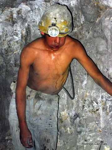 It was really touching to see the conditions the miners work in the Potosi Mine in Bolivia.