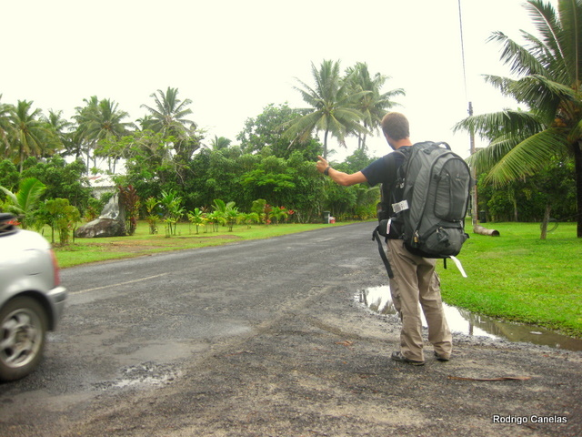 Hitch hike in the Islands